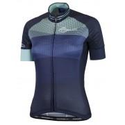 ultrakönnyű női jersey Rogelli STEL LE rövid ujj, kék 010.141.