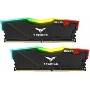 Kit Memorie Team Group Delta RGB Black 16GB 2x8GB DDR4 3000MHz CL16 1.35V