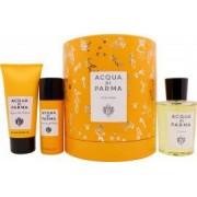 Acqua di Parma Colonia Geschenkset 100ml EDC + 75ml Duschgel + 50ml Deodorant Spray