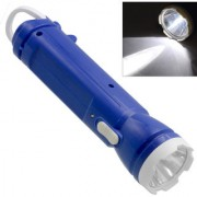 Rechargeable LED Flashlight Torch with Emergency Lights - 93