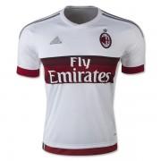 Adidas - Maglia Replica Trasferta A.C.Milan 15/16 Adulto Bianco E Rosso - S15643