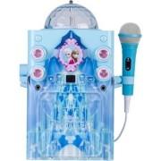 Disney Frozen Ko2 06027 Wint Frozen Castle Durable Disco Globe/Castle Colorful Flashing Lights For A Party Karaoke