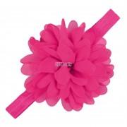 Encaje Kids Niño Del Bebé Suave Elástico Venda De La Flor De Headwear Accesorios Rosa Roja