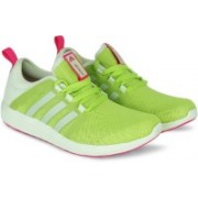 ADIDAS FRESH BOUNCE W Running Shoes For Women(Green, Pink)