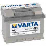 Baterie auto 12V 61Ah 600A D21 VARTA SILVER DYNAMIC 561400 060