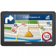 "Prestigio GeoVision 7059, навигация за автомобил, 7"" (17.8cm), 4GB вградена памет, SD/SDHC слот, USB, без вградени карти"
