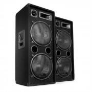 Paar Auna 2x PW-2222 3-weg box luidspreker 30,5 cm 2000W