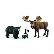 Schleich North American Forest Dweller Set