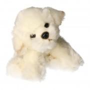 Geen Pluche Bison Frise hond knuffel 24 cm
