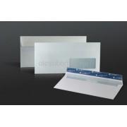 Prémium Business boríték LA/4 110x220 mm, szilikonos, jobb 35x90 mm ablakos, bélésnyomott
