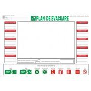 Plan de evacuare - model 2