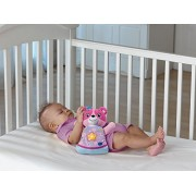 VTech - Soothing Songs Bear, Pink - Soft, Cuddly Bear, 45 Soothing Songs, Melodies, Sounds and Phrases