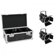 EuroLite Set 2x LED THA-40PC sw + Case