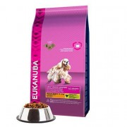 Eukanuba Adult Medium Breed Weight Control Dry Dog Food With Chicken 3kg