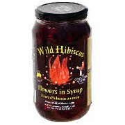 Wild Hibiscus Flowers in Syrup 50 Flowers