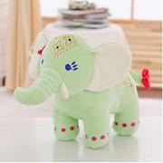 New imported Plush Toys 30cm Elephant Doll Long Nose Elephants(Green)