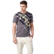 Fido Dido Men'S Eiffel Tower Round Neck T-Shirt