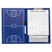 Rucanor coachmap basketbal magnetisch 36 cm blauw