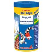 Sera Koi Royal Medium 1L 7115, Hrana pesti iaz granule 340gr