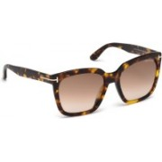 tom ford Shield Sunglasses(Brown)