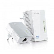 Access Point Extensor Wifi Tp Link Tl-wpa4220 Kit 300 Mbps Blanco