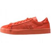 adidas Courtvantage Trainers In Orange Orange