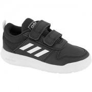 Adidas Zwarte Tensaur velcrosluiting 25