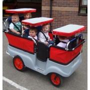 6 - persoons Kiddy-Bus om veel kinderen in te vervoeren