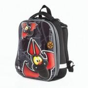 Brauberg Premium Ранец с 2-мя отделениями и брелоком для мальчиков Летучая мышь