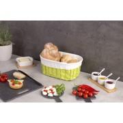 ZELLER Košík na chleba, sušenky, ovoce - 32x22x14 cm, ZELLER