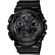 G-Shock World time Analog-Digital Black Dial Mens Watch - GA-100CF-1ADR (G520)