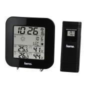 HAMA EWS-200, 136222 Електронна Метеостанция, Часовник