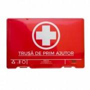 Trusa medicala Automax de prim ajutor culoare rosie