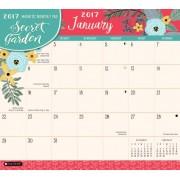 2017 Secret Garden Magnetic Monthly Pad