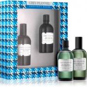 Geoffrey Beene Grey Flannel lote de regalo I. eau de toilette 120 ml + loción after shave 120 ml