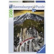 PUZZLE CANION IARNA, 1500 PIESE - RAVENSBURGER (RVSPA16358)