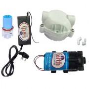 EarthRoSystem Service set1 X Smps(24 v) 1x Solenoid Valve (Sv) 24 V 1 x pump(75 GPD) 1 x pump head 2 x elbow