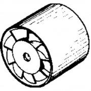 Cijevni ugradbeni ventilator 230 V 320 m3/h 15 cm Wallair 20100262