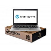 HP EliteBook Folio 9480M Intel Core i5 4210U 1.7 GHz. · 8 Gb. SO-DDR3 RAM · 320 Gb. SATA · COA Windows 8 Pro actualizado a Windo