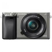 Sony Aparat SONY Alpha A6000 (ILCE-6000) + obiektyw 16 - 50 mm Czarny