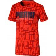 Puma Active Sports Aop T-Shirt, Red 116
