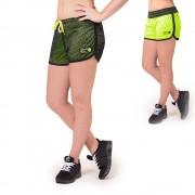 Gorilla Wear Madison Reversible Shorts - Black/Neon Lime - XS