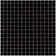 Mozaiektegel Amsterdam Black – Silk Silk Glass 322x322