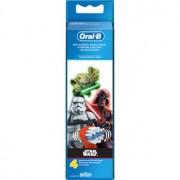 Oral B Stages Power EB10 Star Wars cabeças de reposição para escova de dentes extra suave 4 un.
