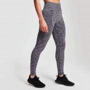 Mp Leggings sportivi Seamless Space Dye da donna - Nero - XS