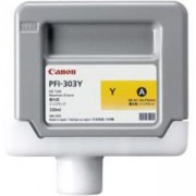 Мастилена касета Canon Ink Tank PFI-303Y for iPF810 iPF820 330ml, 2961B001AA