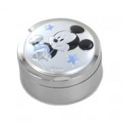scatola porta dentino da bambino argento mickey mouse disney