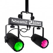 Beamz 153.747 Conjunto 2-Some Light 2x57 Rgbw
