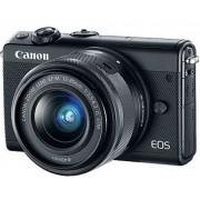 Canon EOS M100 Kit Schwarz - inkl. Objektiv EF-M 15-45