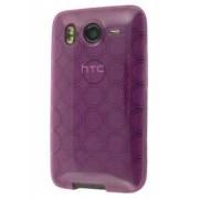TPU Gel Case for HTC Desire HD - HTC Soft Cover (Purple)